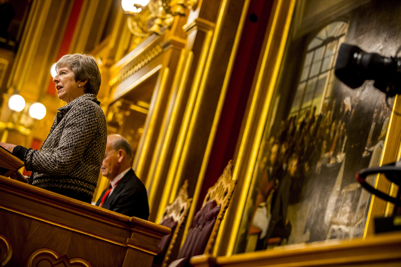 Theresa May taler i Plenum Stortinget, Nordisk Råds Session 2018