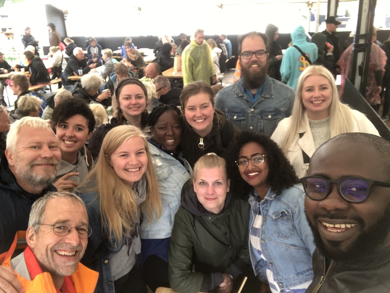 African Youth Delegation at Roskilde Festival