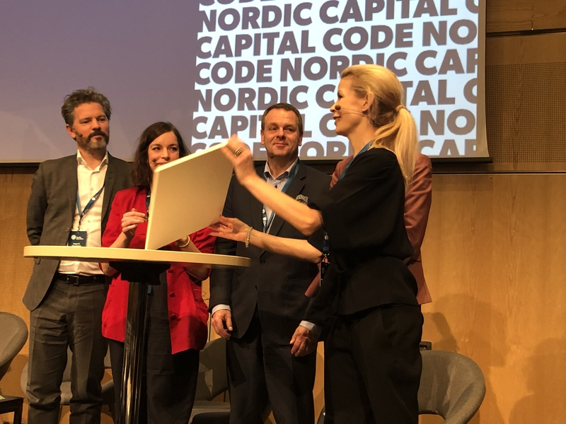 Underskrift Nordic Safe Cities