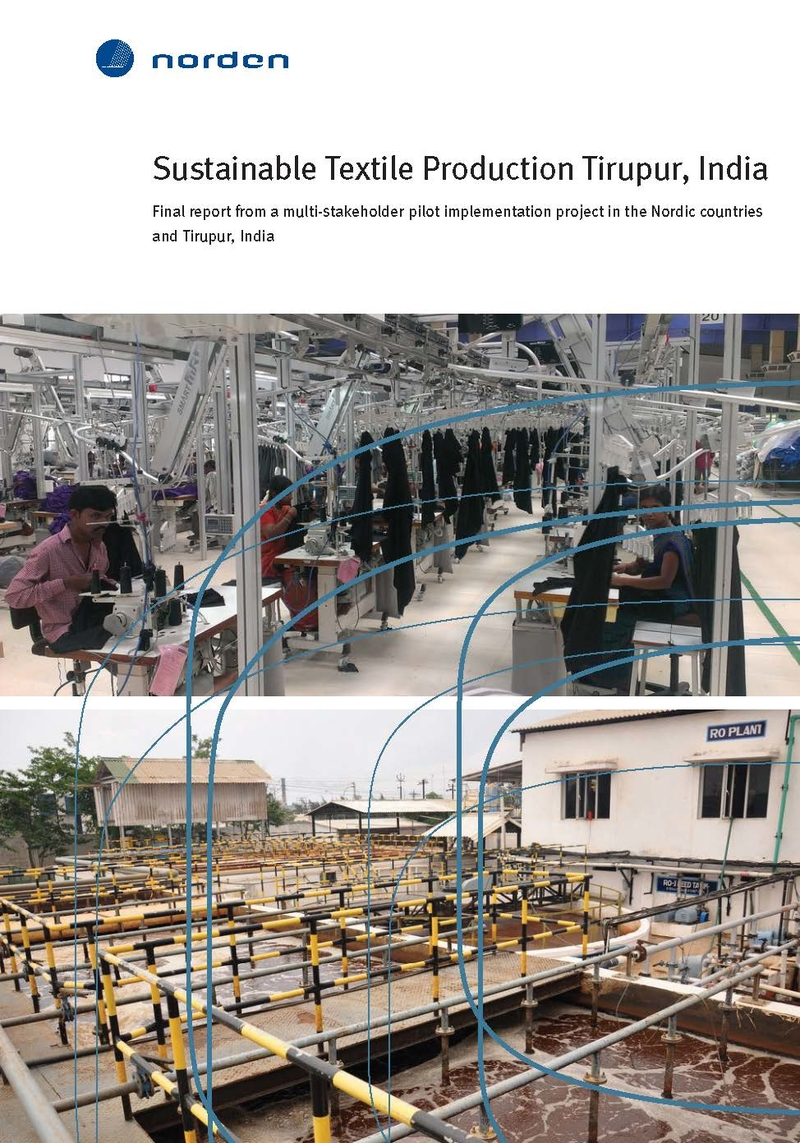 Sustainable Textile Production Tirupur, India | Nordic