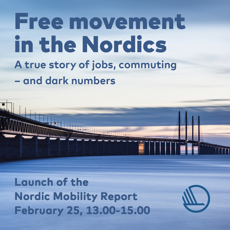 Bild av bro och rubriken Free movement in the Nordics