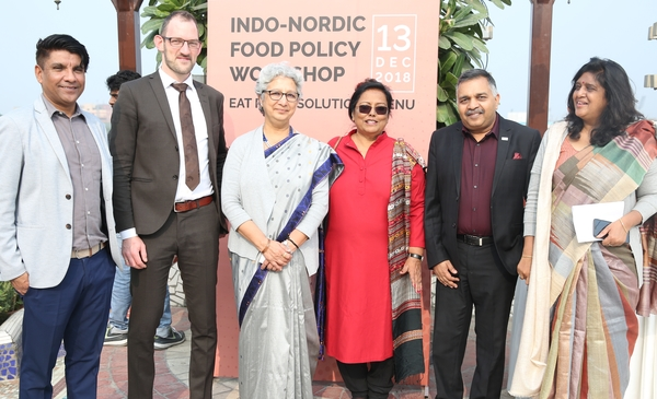 The Indo-Nordic Food Policy Workshop and the Tasting India Symposium 2018.