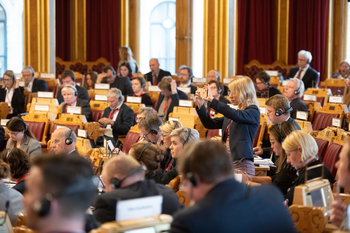 Stortinget Nordiska rådets session 2018