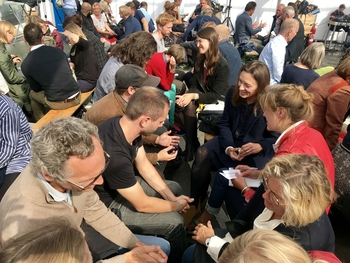 Workshop activity at Ethical AI: Actioning a Nordic Stronghold Together, Techfestival 2019