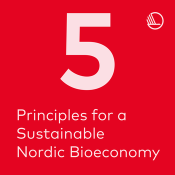 Five principles for a sustainable bioeconomy